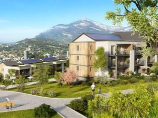 Programme immobilier neuf Jacob Bellecombette - Castanea - Residence Principale