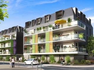 Programme immobilier neuf Aix les Bains - Carre d'air - Loi Pinel, Residence Principale