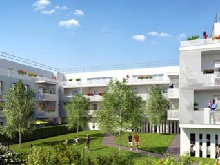 Programme immobilier neuf Eysines - L'atika - Loi Pinel, Residence Principale