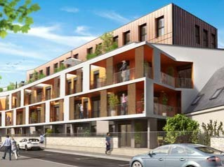 Programme immobilier neuf Tours - Le 10 saint augustin - Loi Pinel, Residence Principale