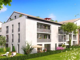 Programme immobilier neuf Saint Jean - L'union square - Loi Pinel, Residence Principale - Investir en immobilier neuf Saint Jean