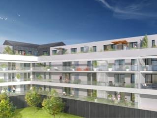 Programme immobilier neuf Cesson Sévigné - Carre hublais - Loi Pinel, Residence Principale