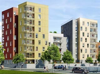 Programme immobilier neuf Bobigny - Graphic - Loi Pinel, Residence Principale