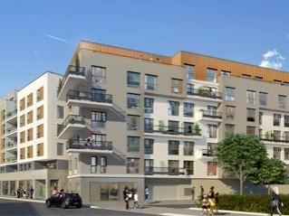 Programme immobilier neuf Créteil - Néo-c / néo-study - eden 2 - Statut LMP, Statut LMNP, Loi Censi-Bouvard
