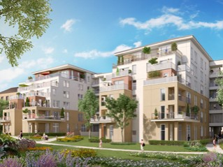 Programme immobilier neuf Ermont - 360° - Loi Pinel, Residence Principale