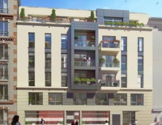 Programme immobilier neuf Bois Colombes - Art Déco - Residence Principale