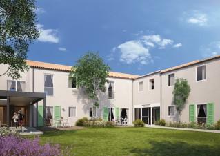 Programme immobilier neuf Saint Pierre d'Oléron - Vitéal oléron - partie achevée - Statut LMP, Statut LMNP, Loi Censi-Bouvard
