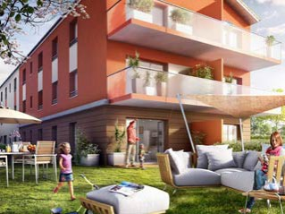 Programme immobilier neuf Cournon d'Auvergne - Terracotta - Residence Principale - Investir en immobilier neuf Cournon d'Auvergne