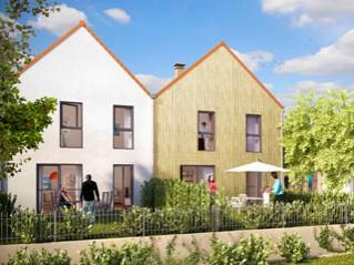 Programme immobilier neuf Troyes - Le domaine d'antoine - les villas - Residence Principale - Investir en immobilier neuf Troyes