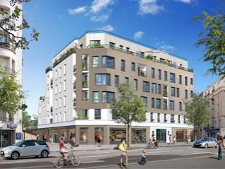 Programme immobilier neuf Asnières sur Seine - L'exclusif - Residence Principale - Investir en immobilier neuf Asnières sur Seine