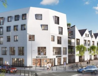 Programme immobilier neuf Lille - White Corner - Residence Principale
