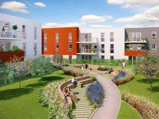 Programme immobilier neuf Reims - Le carre des sens - Residence Principale