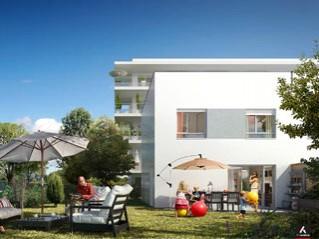 Programme immobilier neuf Bordeaux - Les voiles du lac - Residence Principale