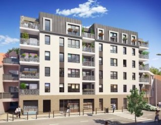 Programme immobilier neuf Sartrouville - Grey Central - Residence Principale