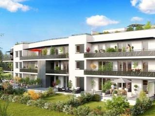 Programme immobilier neuf Montbonnot Saint Martin - Le domaine du jayet - Residence Principale - Investir en immobilier neuf Montbonnot Saint Martin