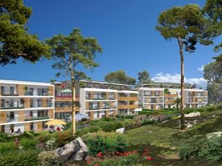 Programme immobilier neuf Saint Raphaël - Le parc - Residence Principale - Investir en immobilier neuf Saint Raphaël