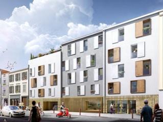 Programme immobilier neuf Clermont Ferrand - Univers studio - Statut LMP, Statut LMNP, Loi Censi-Bouvard