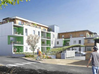 Programme immobilier neuf Pessac - Urbanova - Residence Principale