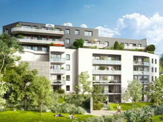 Programme immobilier neuf Laxou - Plein ciel - Residence Principale