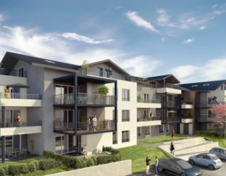 Programme immobilier neuf Excenevex - CAP LEMAN - Residence Principale