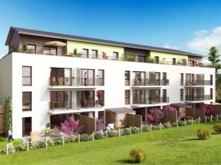Programme immobilier neuf Carpiquet - Vert amande - Residence Principale