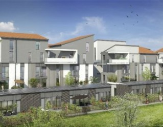 Programme immobilier neuf Toulouse - LES PASSERELLES DU TOUCH - Residence Principale