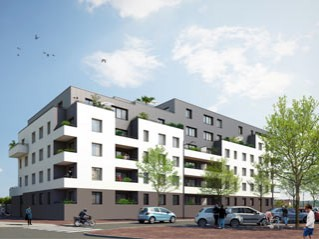 Programme immobilier neuf Rouen - Via mathilde - Residence Principale