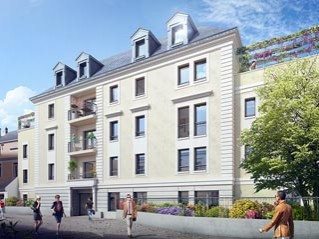 Programme immobilier neuf Angers - 34 rue des arènes - Residence Principale