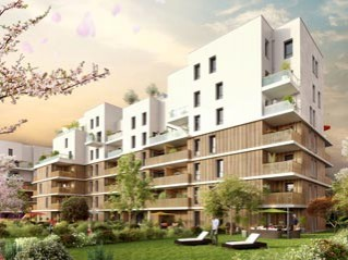 Programme immobilier neuf Ambilly - Sakura - Residence Principale
