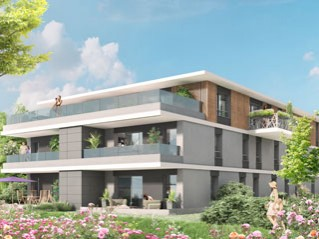 Programme immobilier neuf Thonon les Bains - Reflets leman - Residence Principale