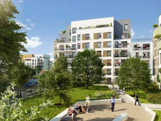 Programme immobilier neuf Créteil - Neo c / eden 2 - Residence Principale
