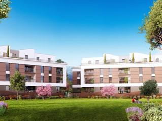Programme immobilier neuf Pollestres - Les jardins d'olympe - Residence Principale - Investir en immobilier neuf Pollestres