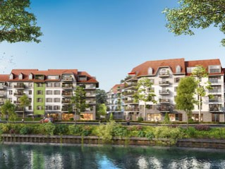 Programme immobilier neuf Wasquehal - Les berges du centre - Residence Principale