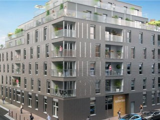Programme immobilier neuf Lille - Villa solferino - Loi Pinel, Residence Principale - Investir en immobilier neuf Lille