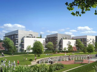 Programme immobilier neuf Corbeil Essonnes - Corbeil papeterie - l'origami - Residence Principale