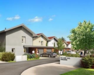 Programme immobilier neuf Prévessin Moëns - Au gré des Jardins - Brétigny - Residence Principale