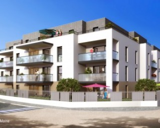 Programme immobilier neuf Vertou - Optilium - Residence Principale - Investir en immobilier neuf Vertou