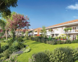 Programme immobilier neuf Fare les Oliviers - Jardins  et  Paysage - Residence Principale