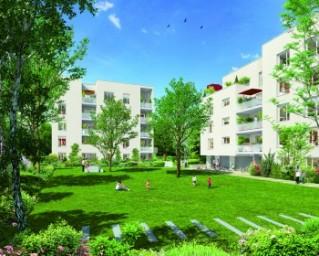 Programme immobilier neuf Vaulx en Velin - Garden Life - Residence Principale