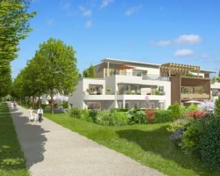 Programme immobilier neuf Prévessin Moëns - Les Allées Fleuries - Residence Principale