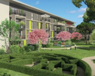Programme immobilier neuf Fréjus - Esterel Garden - Residence Principale