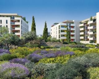 Programme immobilier neuf Aix en Provence - Aix Duranne Naturellement - Residence Principale