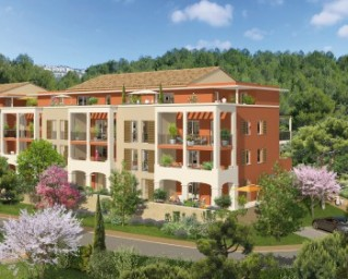 Programme immobilier neuf Châteauneuf le Rouge - Absolu Sainte Victoire - Residence Principale