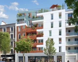 Programme immobilier neuf Villejuif - L'Aquilain - Nue-propriété - Residence Principale