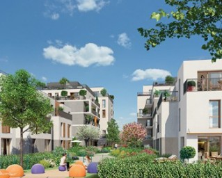 Programme immobilier neuf Courneuve - Allees Saint Honore - Residence Principale