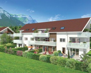 Programme immobilier neuf Crolles - Villas Victoria - Residence Principale - Investir en immobilier neuf Crolles