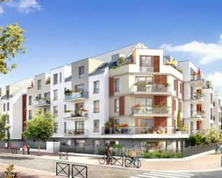 Programme immobilier neuf Créteil - Cadenciel - Residence Principale