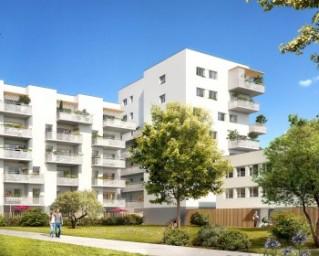Programme immobilier neuf Grenoble - Sur un Parc - Residence Principale