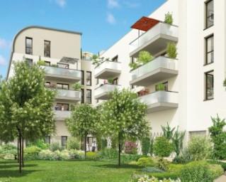Programme immobilier neuf Toulouse - Cours Dillon Jardin et Garonne - Nue Propriété - Residence Principale