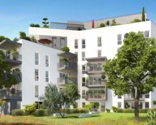 Programme immobilier neuf Villeurbanne - Les Balcons de Thaïs - Residence Principale
